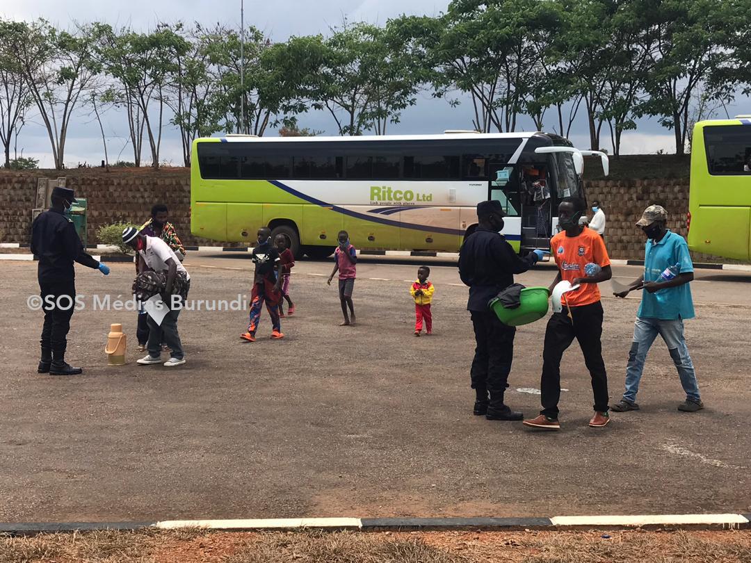 Rapatriement volontaire des réfugiés Burundais en provenance du Rwanda-Mahama