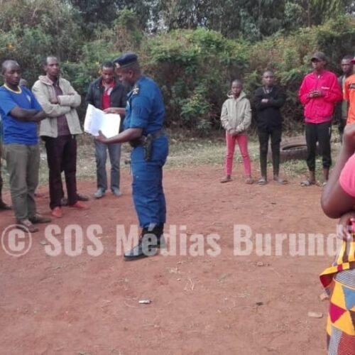 Photo de la semaine: des réfugiés Banyamulenge chassés des villes au Burundi