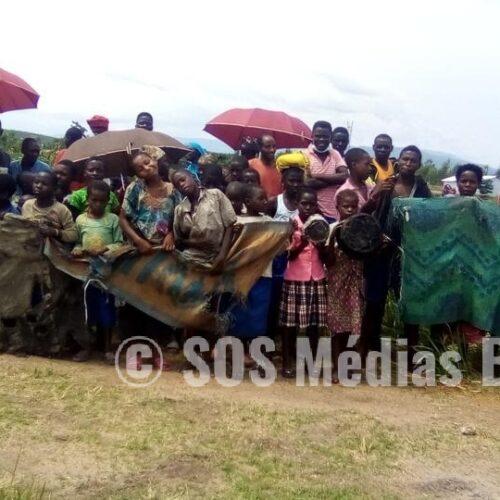 Mulongwe : des réfugiés manifestent contre le manque d'ustensiles ménagers