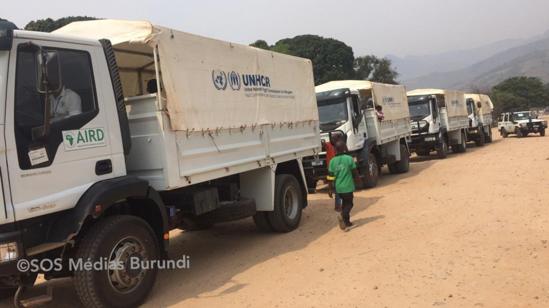 Kavimvira : rapatriement de 296 demandeurs d'asile burundais