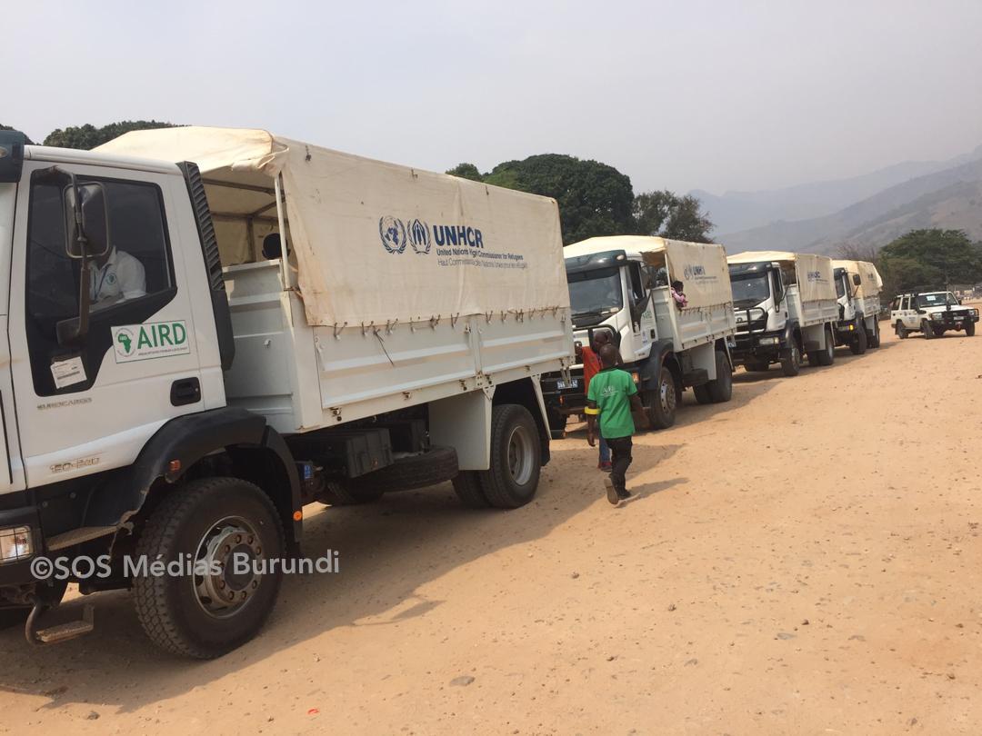 Rapatriement des demandeurs d'asile burundais de la RD Congo