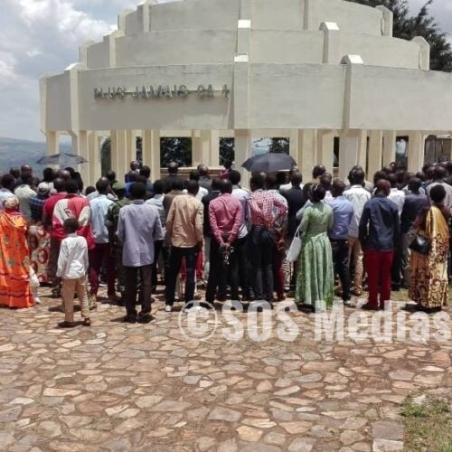 Photo de la semaine: les autorités de Gitega ont interdit la commémoration des massacres des élèves Tutsi