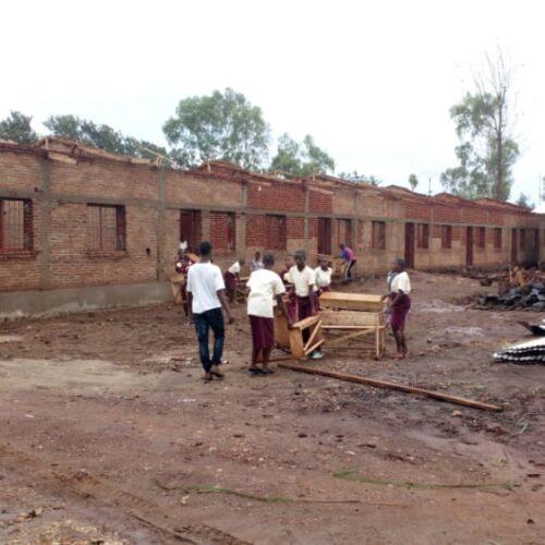 Rugombo: des pluies torrentielles ont détruit plusieurs maisons et champs