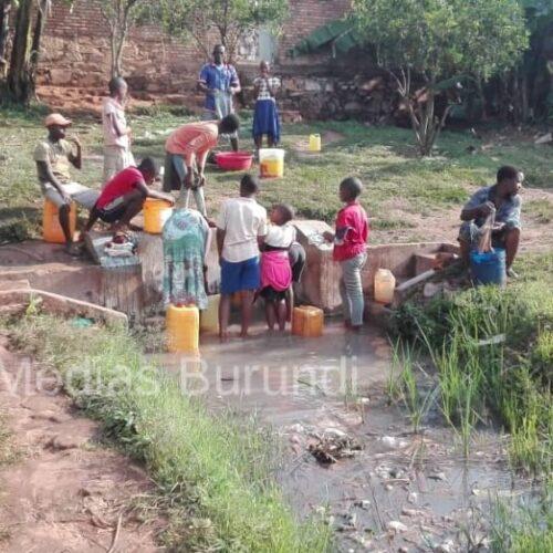 Gitega : une pénurie d'eau potable affecte des habitants