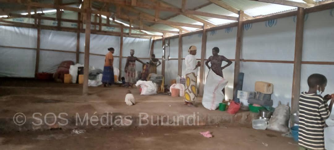 Burundi, rdc, Mulongwe, réfugiés