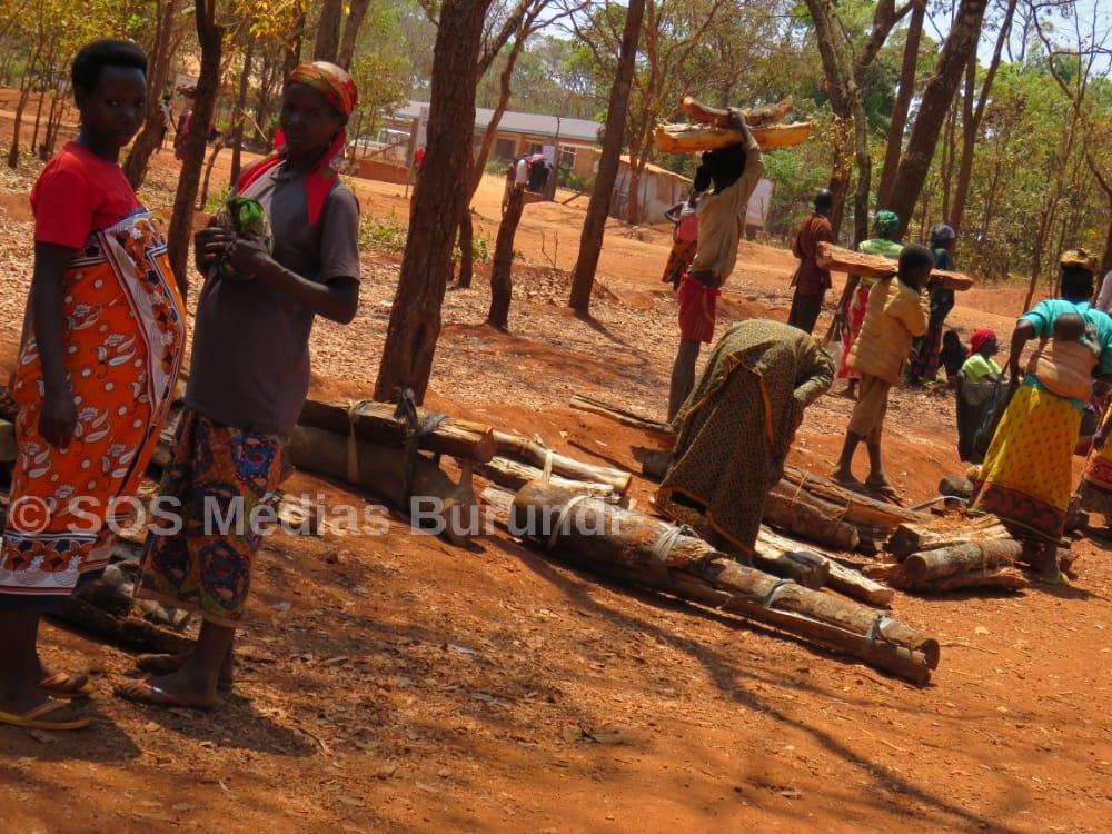 Nduta Tanzanie Femmes Burundi Refugiees