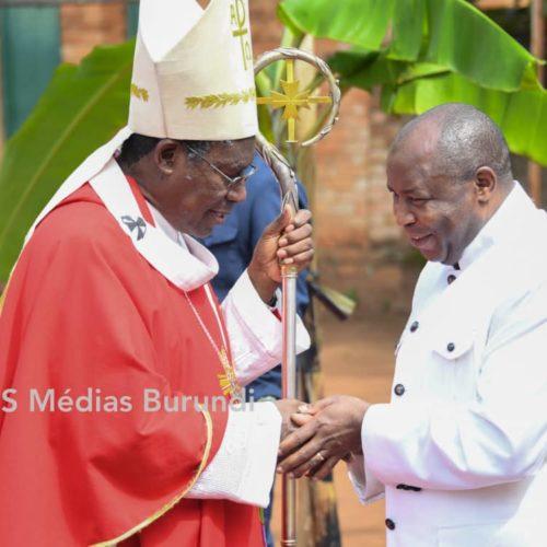 Photo de la semaine : l'archevêque de Gitega prône l'inclusion