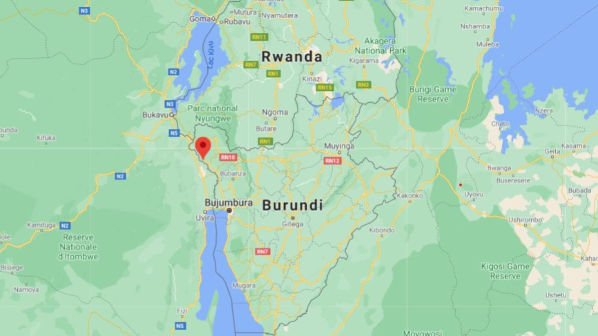 Covid-19 : 35 Congolais détenus à Cibitoke