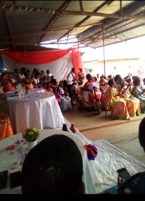 Des réfugiées burundaises dans une fête de nouvel an à Nakivale (DR)
