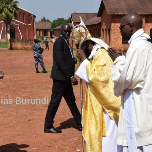 Gitega : l'archevêque de Gitega appelle le CNDD-FDD à plus de tolérance
