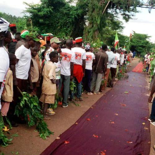 Makamba : le patron du CNDD-FDD visite sa province, les activités sont paralysées