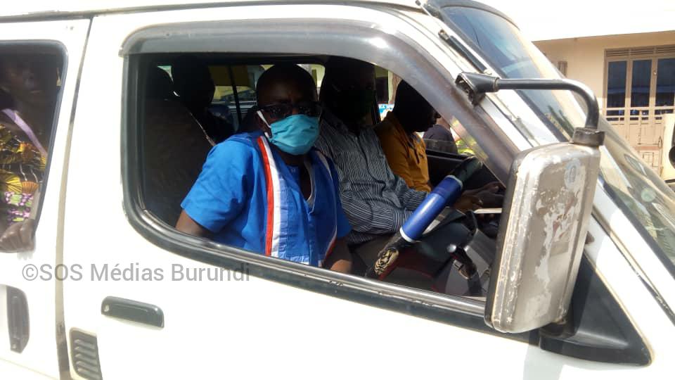Un chauffeur de bus au chef-lieu de Bubanza