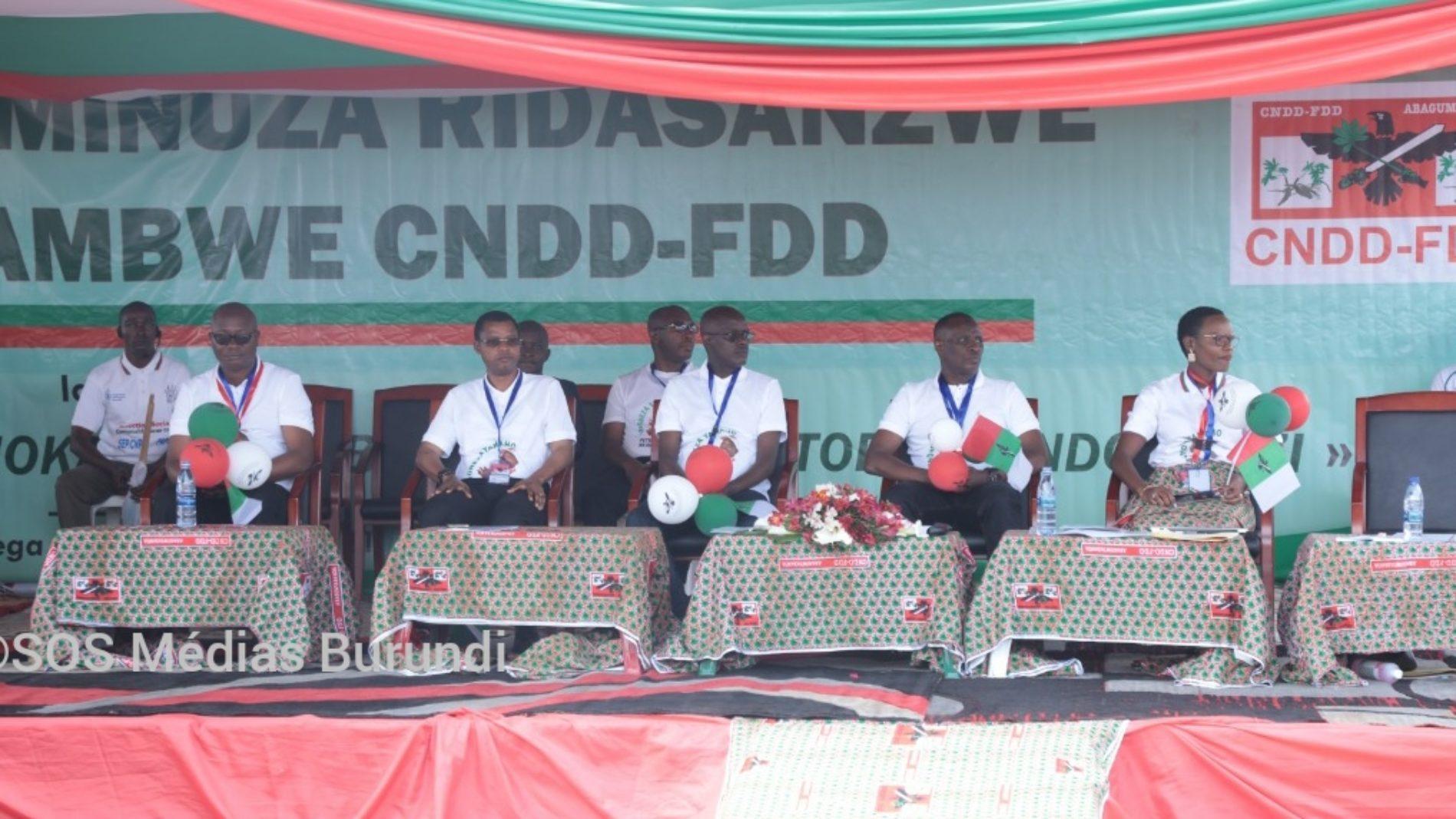 Kirundo : deux camps du CNDD-FDD se regardent en chiens de faïence