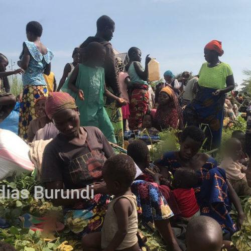 Photo de la semaine : Kavimvira (RDC): des demandeurs d'asile et réfugiés burundais exigent d'être rapatriés