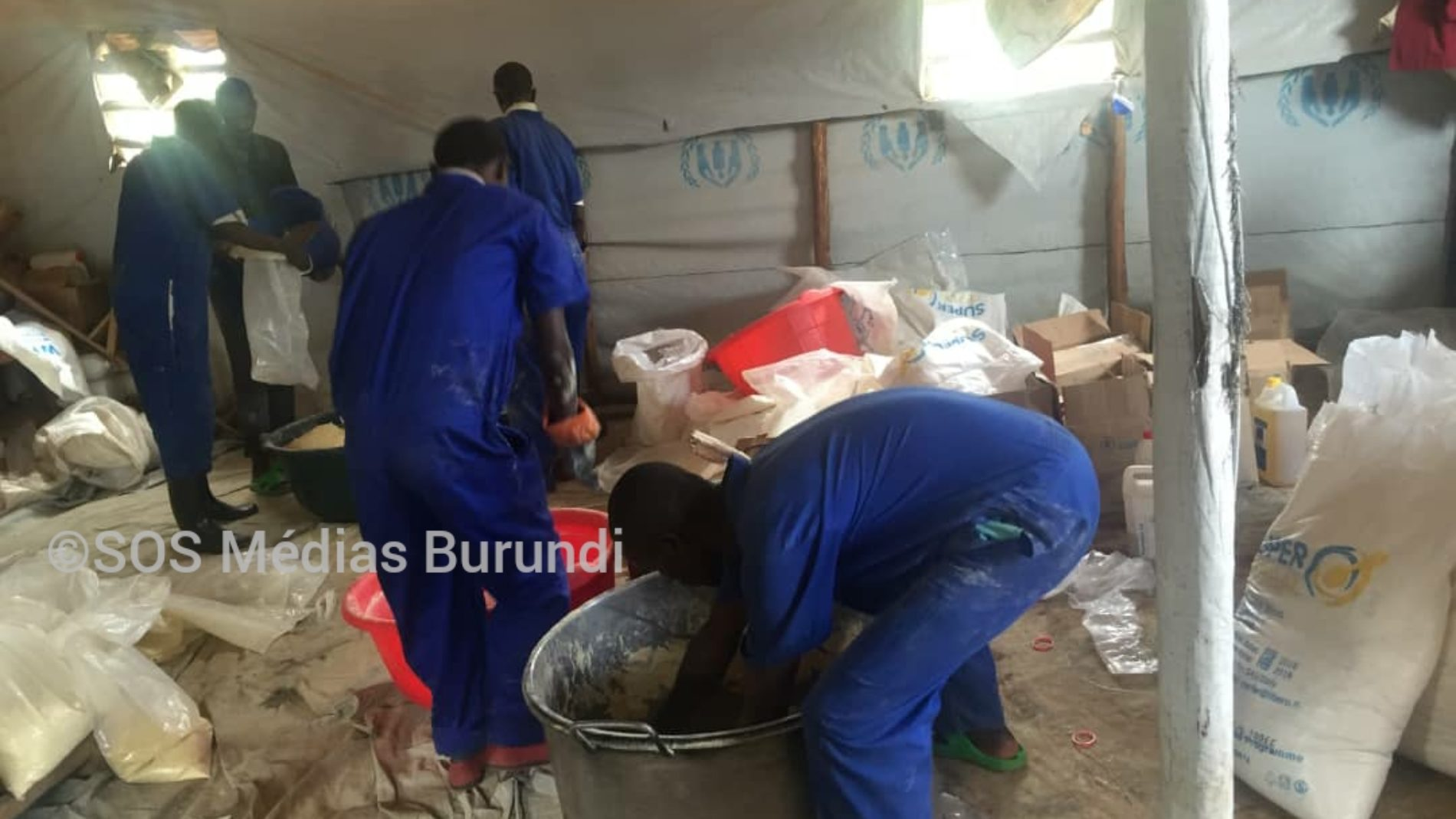 Rwanda : la ration des réfugiés réduite à 60%