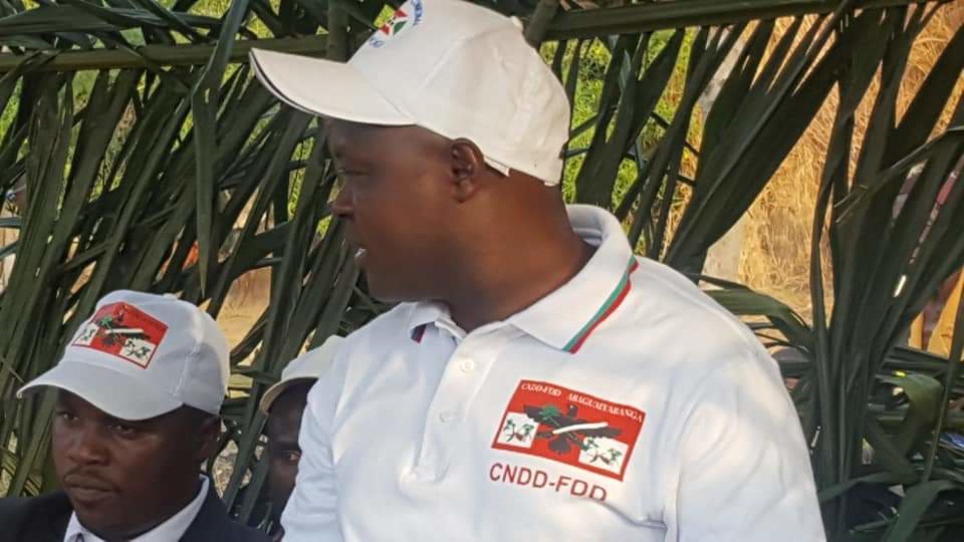 Rumonge : le secrétaire communal du CNDD-FDD libéré
