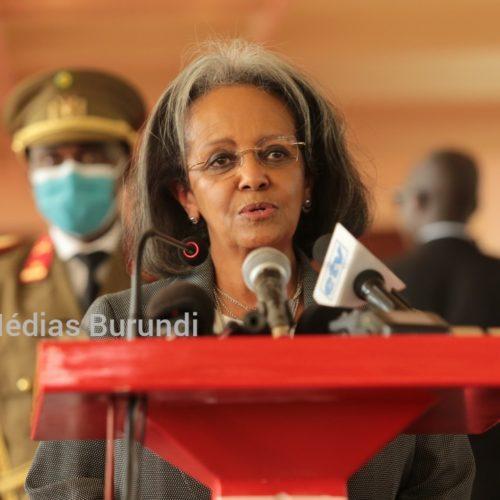 Burundi : la présidente de l'Éthiopie devient le premier chef d'État à visiter Ndayishimiye