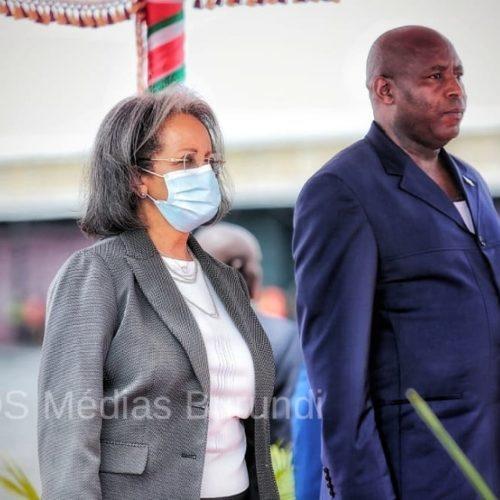 Photo de la semaine : la présidente de l'Éthiopie devient le premier chef d'État à visiter Ndayishimiye