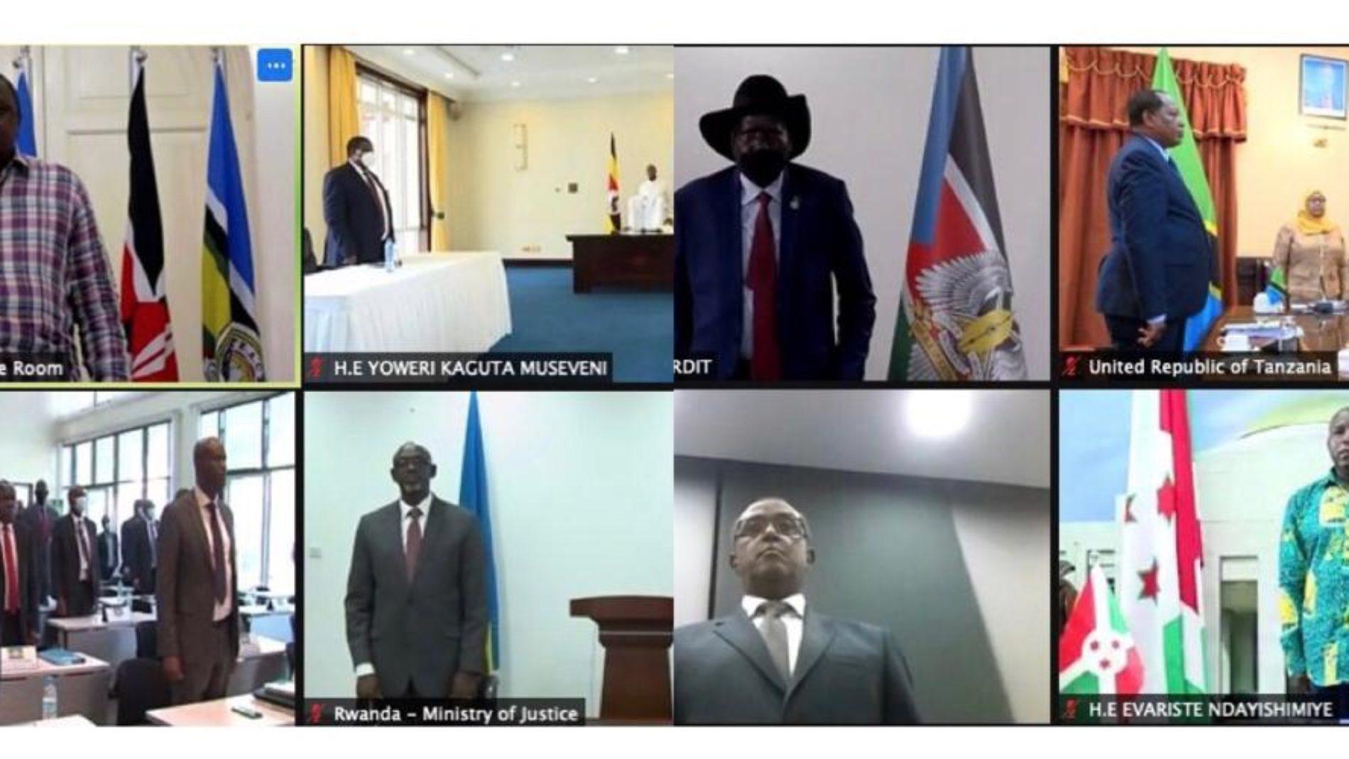 21ème Sommet de l'EAC : le président Évariste Ndayishimiye rassure les réfugiés burundais