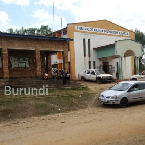 Bubanza : le tribunal provincial a condamné un responsable des Imbonerakure à deux ans de prison