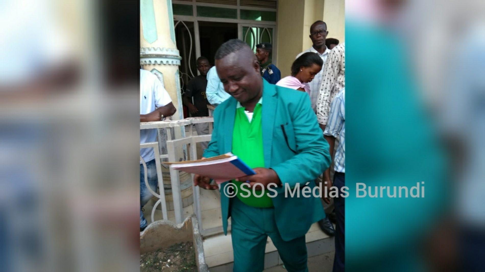Bujumbura : Fabien Banciryanino a quitté la cellule d'isolement