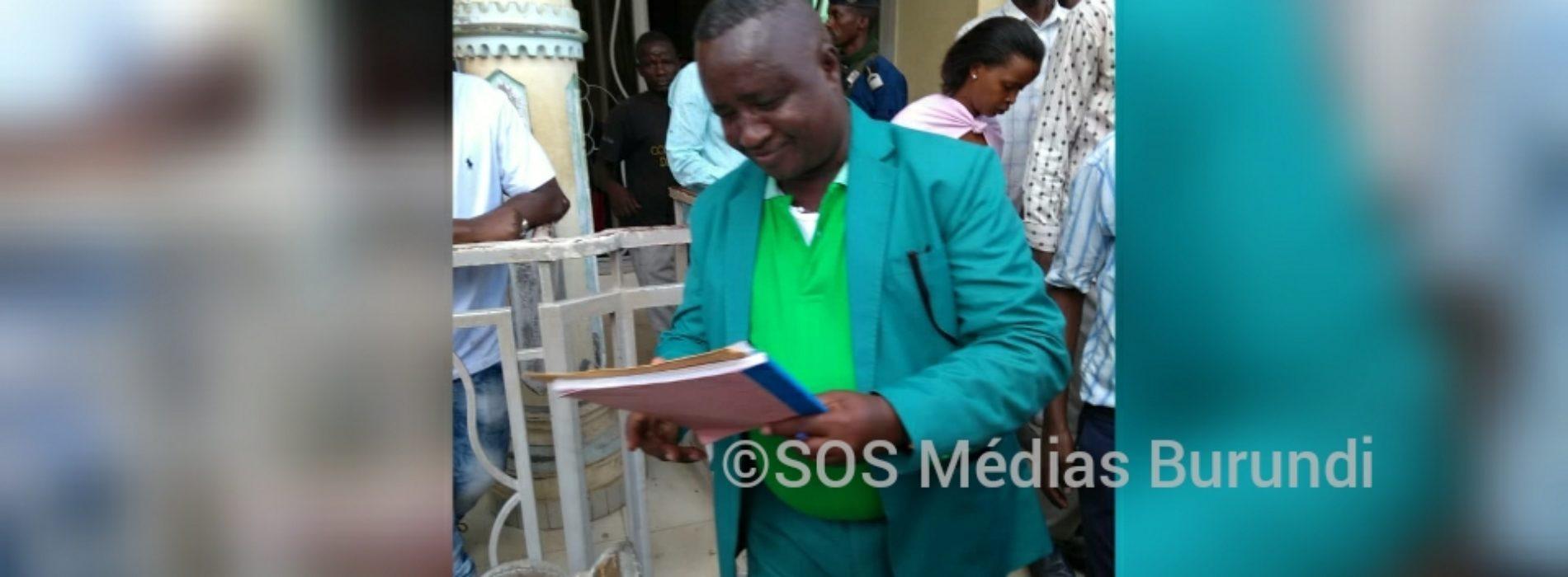 Bujumbura : l'ancien député Banciryanino condamné à une année de prison