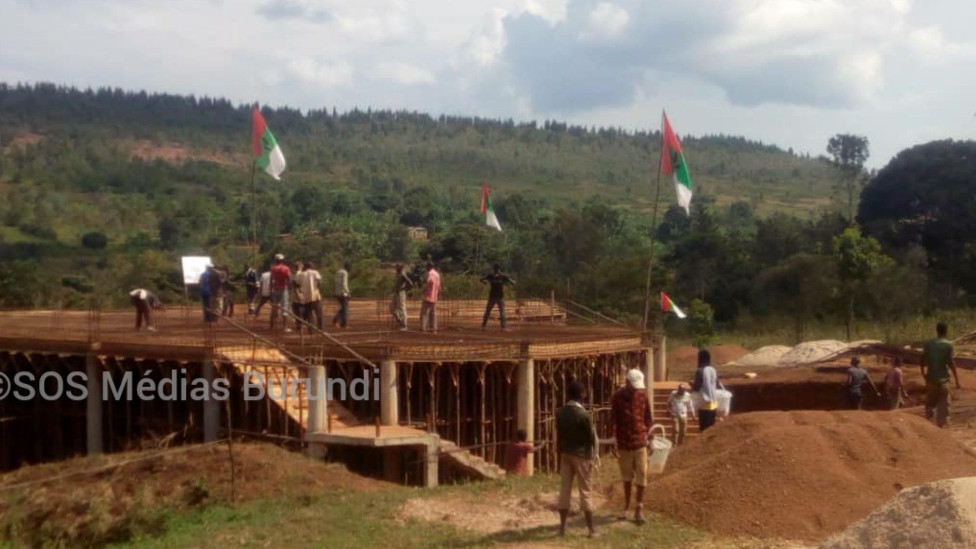 Kirundo : quand un chantier d'une bâtisse du CNDD-FDD sert de bouclier pour une mafia