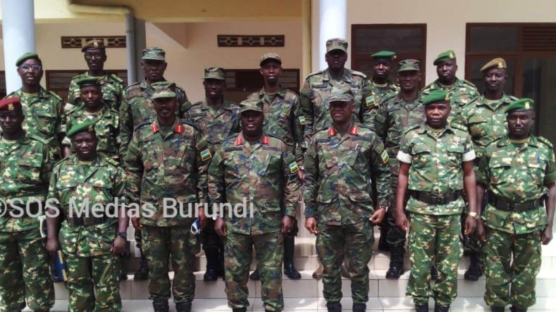 Burundi-Rwanda : des responsables militaires se sont rencontrés