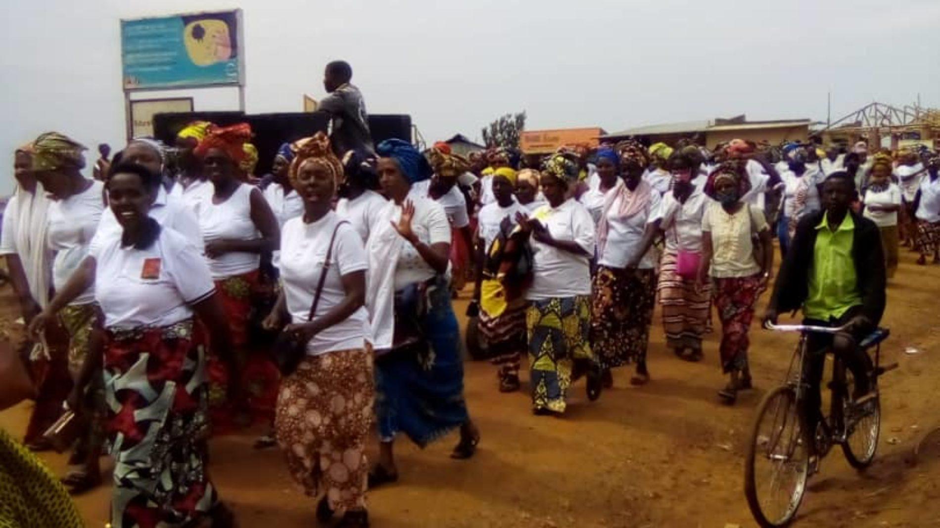 Nakivale (Ouganda) : les réfugiées burundaises ont célébré la journée de la femme