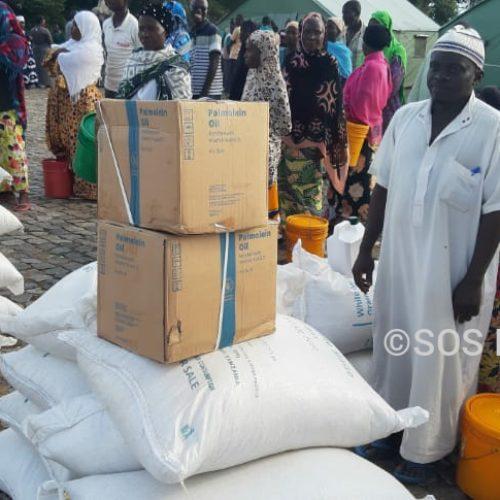 Rumonge : des ménages touchés par la montée des eaux du lac Tanganyika assistés