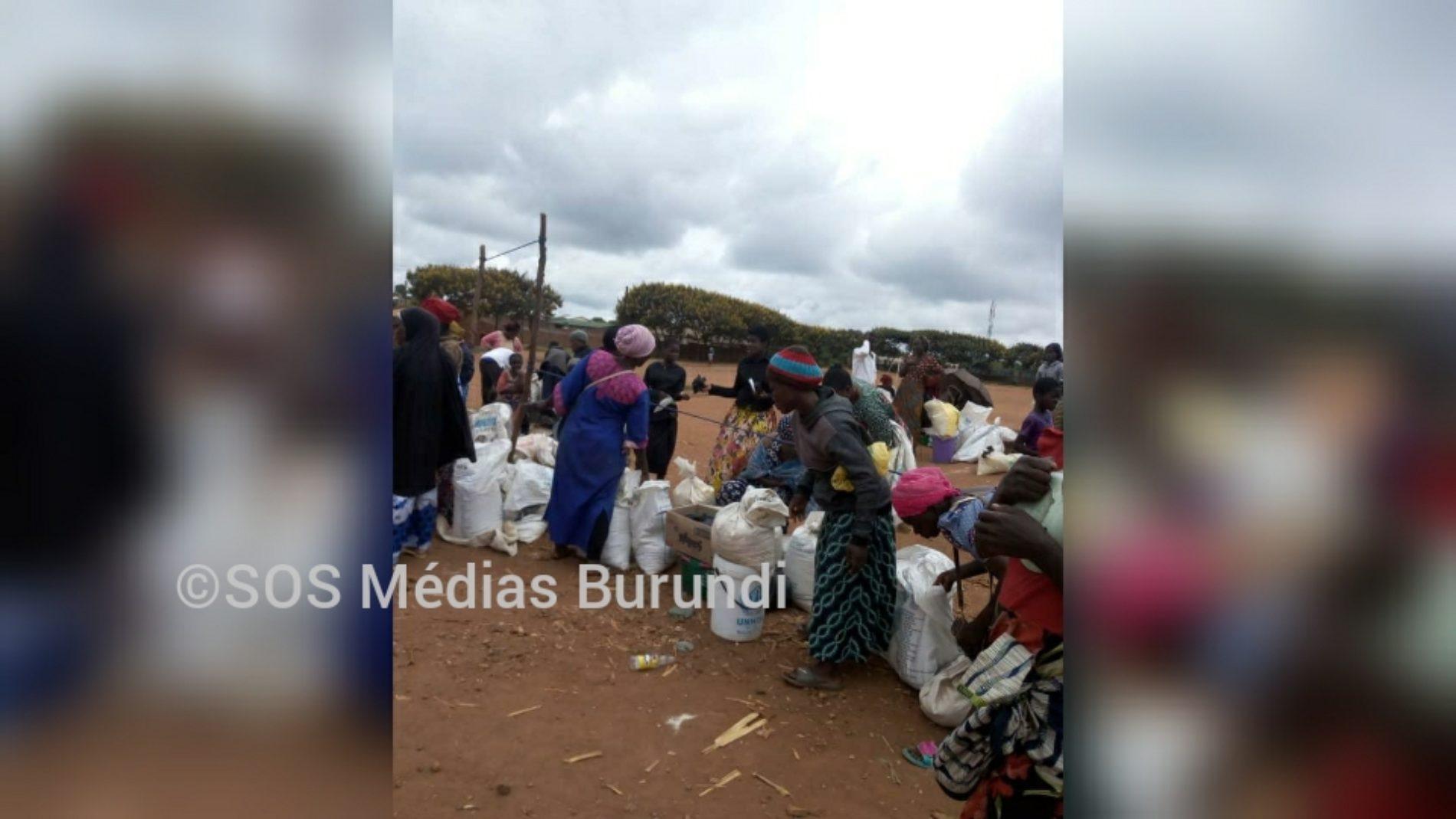 Dzaleka (Malawi) : Distribution de la ration avec un mois de retard