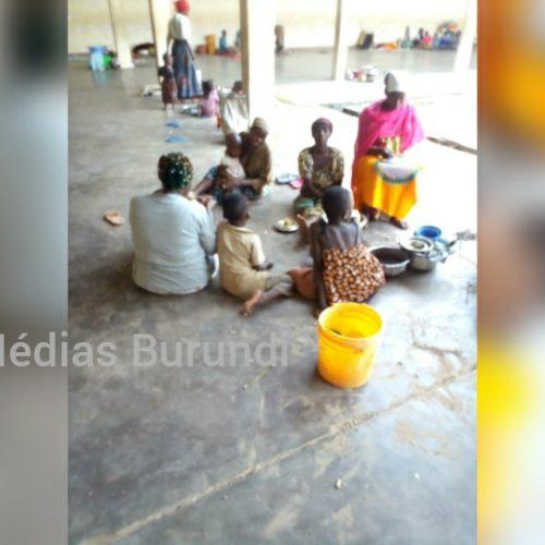 Rumonge : une trentaine de ménages ont fui la montée des eaux du lac Tanganyika