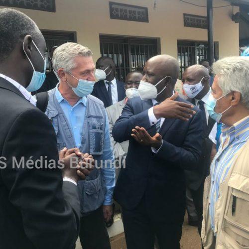 Réfugiés : le haut commissaire du HCR appelle le Burundi à protéger les rapatriés