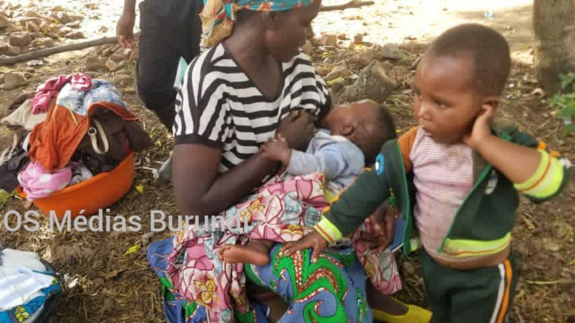 Photo de la semaine : conditions de vie très difficiles pour des déplacés Banyamulenge