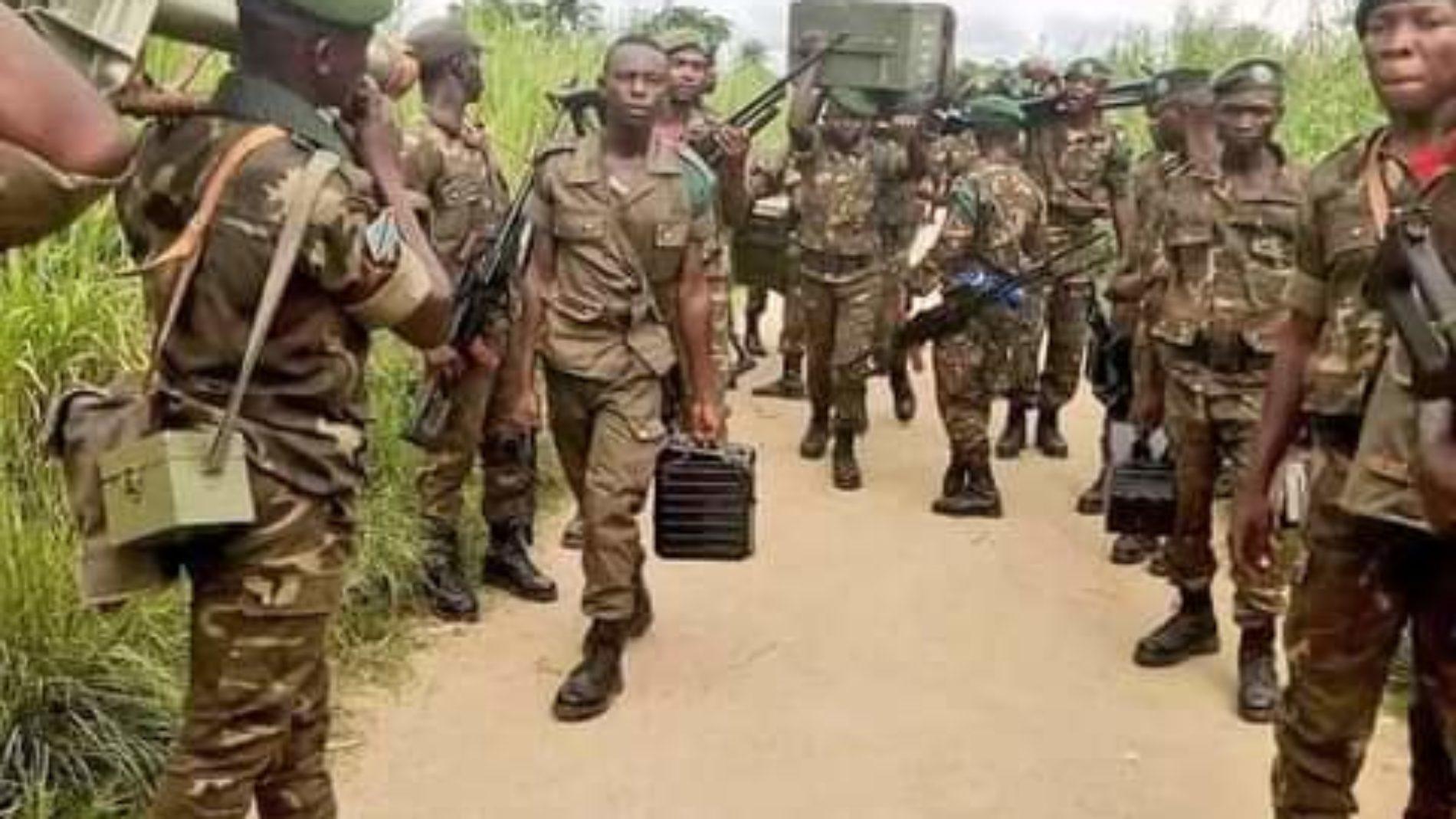 RDC : arrestation de trois officiers militaires