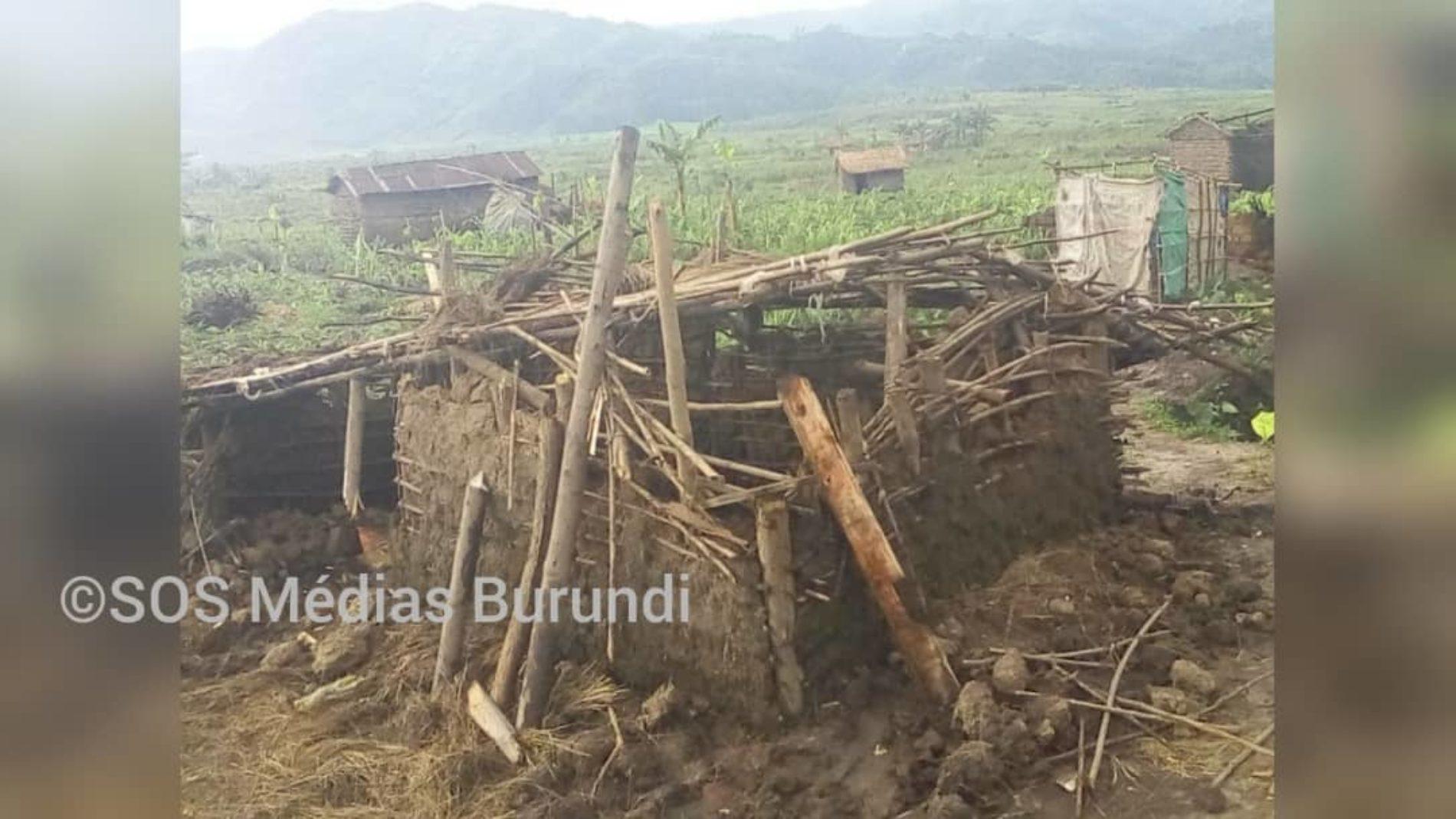 Mabayi : l'administrateur ordonne la destruction de plus de 300 maisons