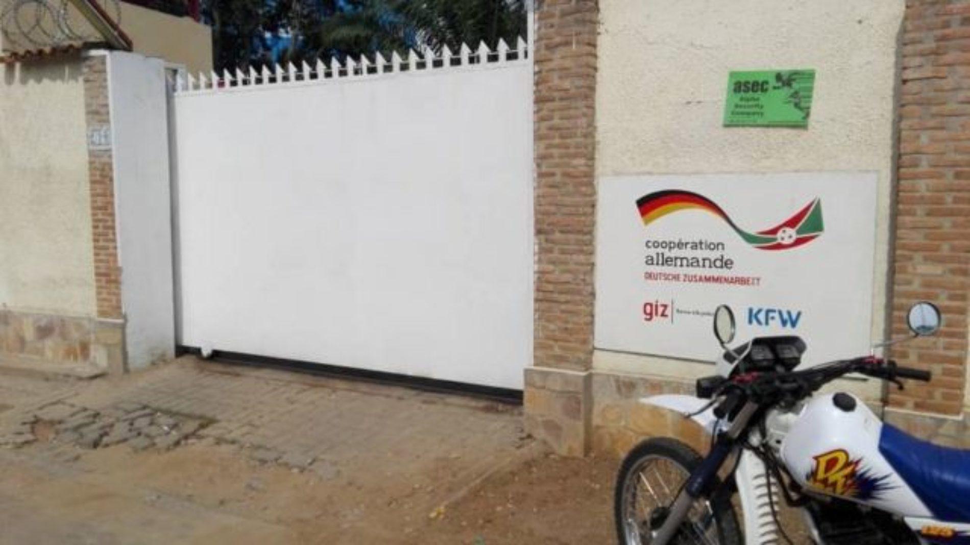 Burundi : vers la fermeture de la GIZ?
