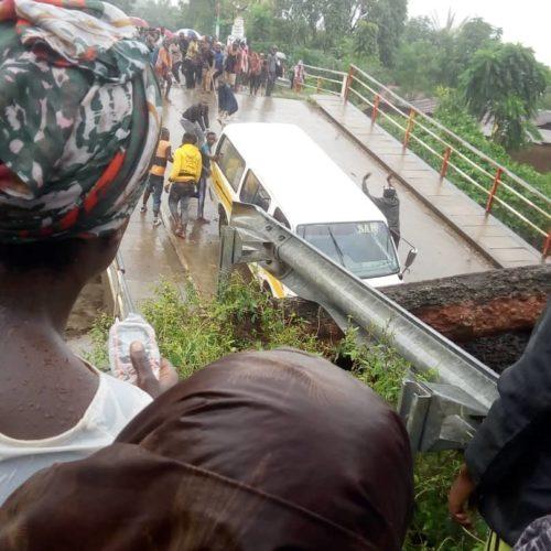 RN3 : la route Bujumbura-Rumonge coupée