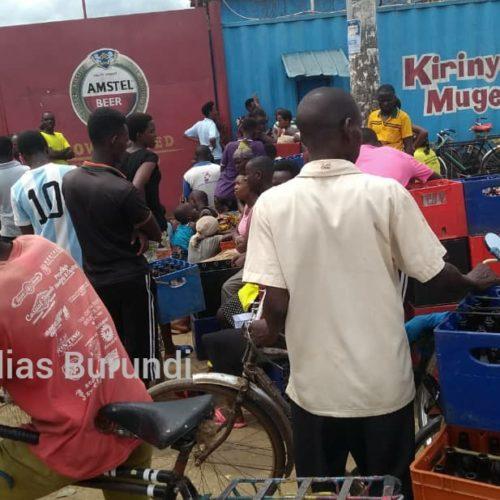 Bujumbura : pénurie des boissons de la Brarudi