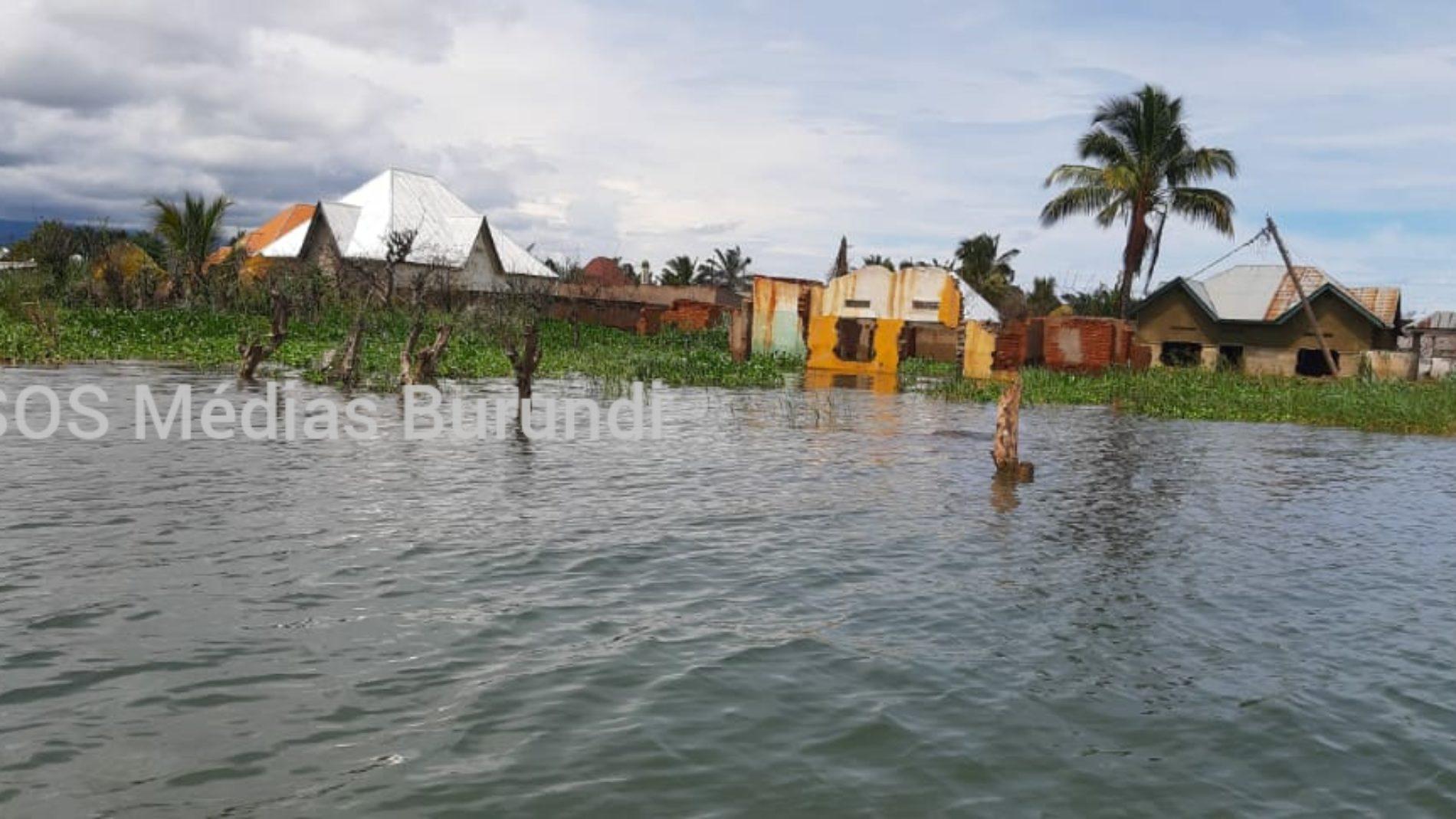 Rumonge : la montée des eaux du lac Tanganyika paralyse les activités
