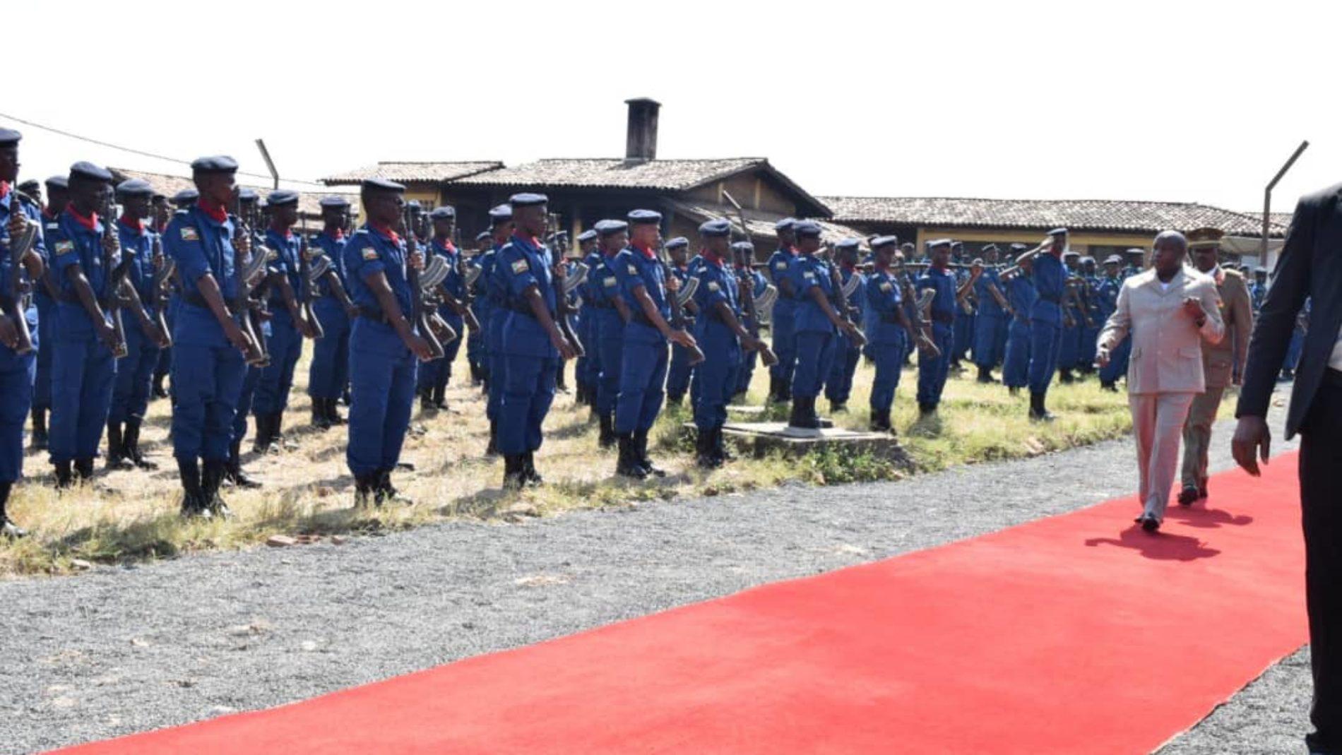 Bubanza : Évariste Ndayishimiye refuse de cautionner tout écart des policiers