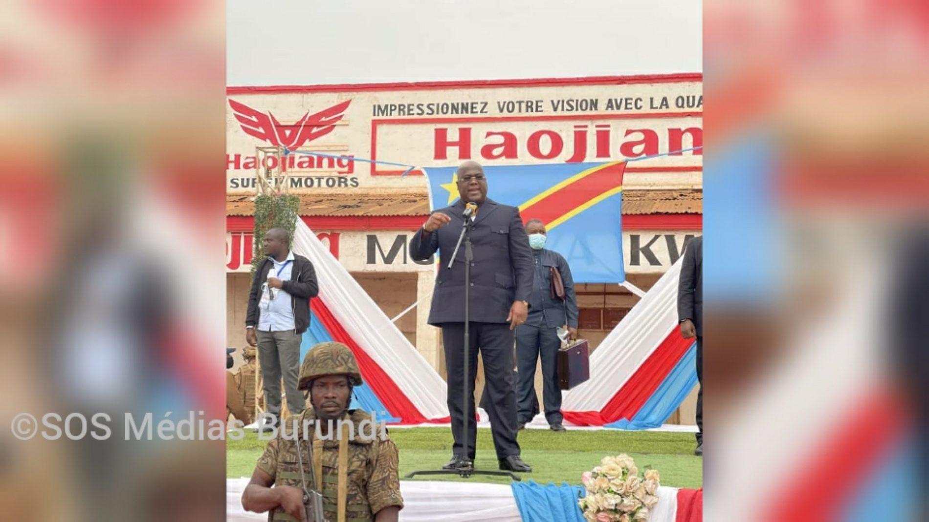RDC-Beni : le chef de l'État promet d'éradiquer le mouvement rebelle ADF