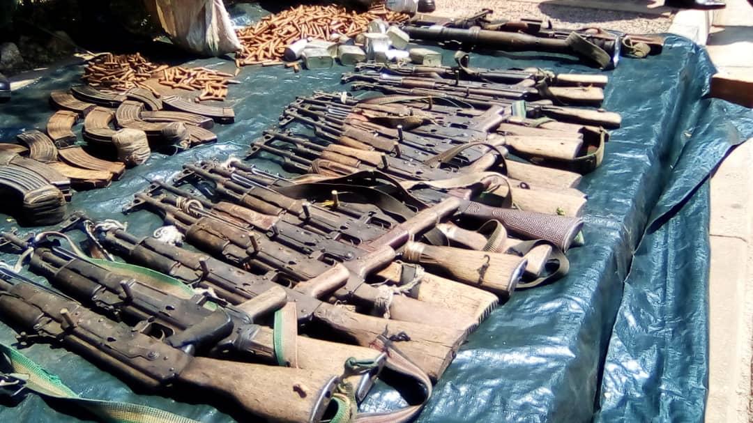 Des munitions des anciens rebelles remis au Burundi