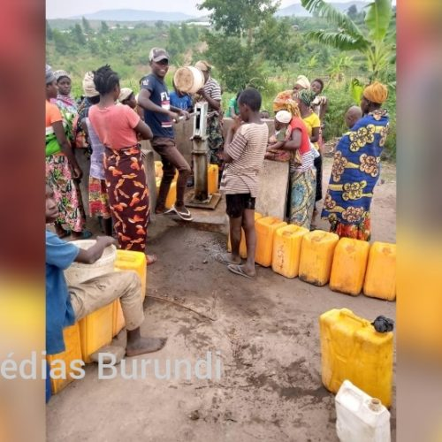 Mulongwe (RDC) : manque d'eau dans le camp