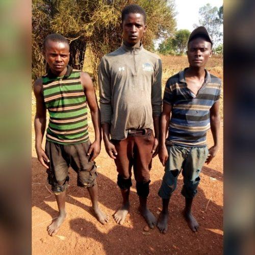 Bugabira : trois Rwandais arrêtés