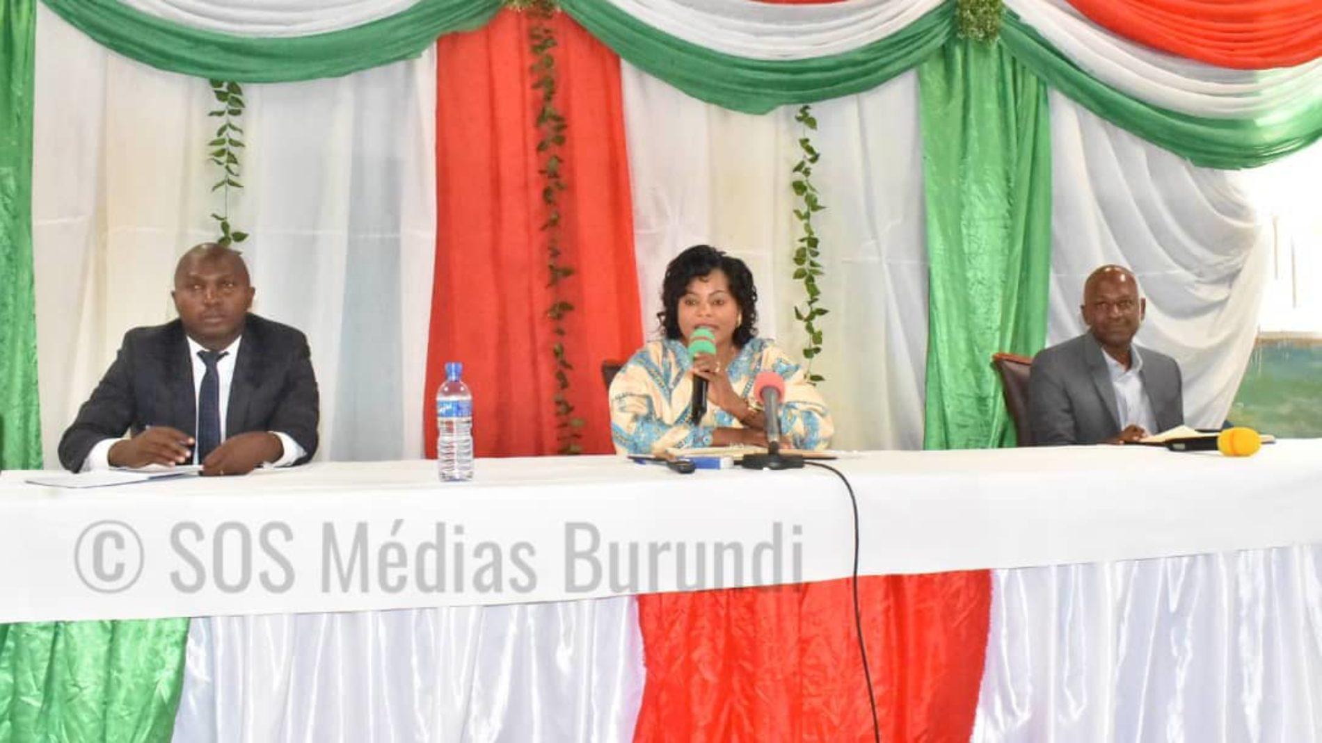 Bubanza : la ministre de la justice balaie les tribunaux de résidence