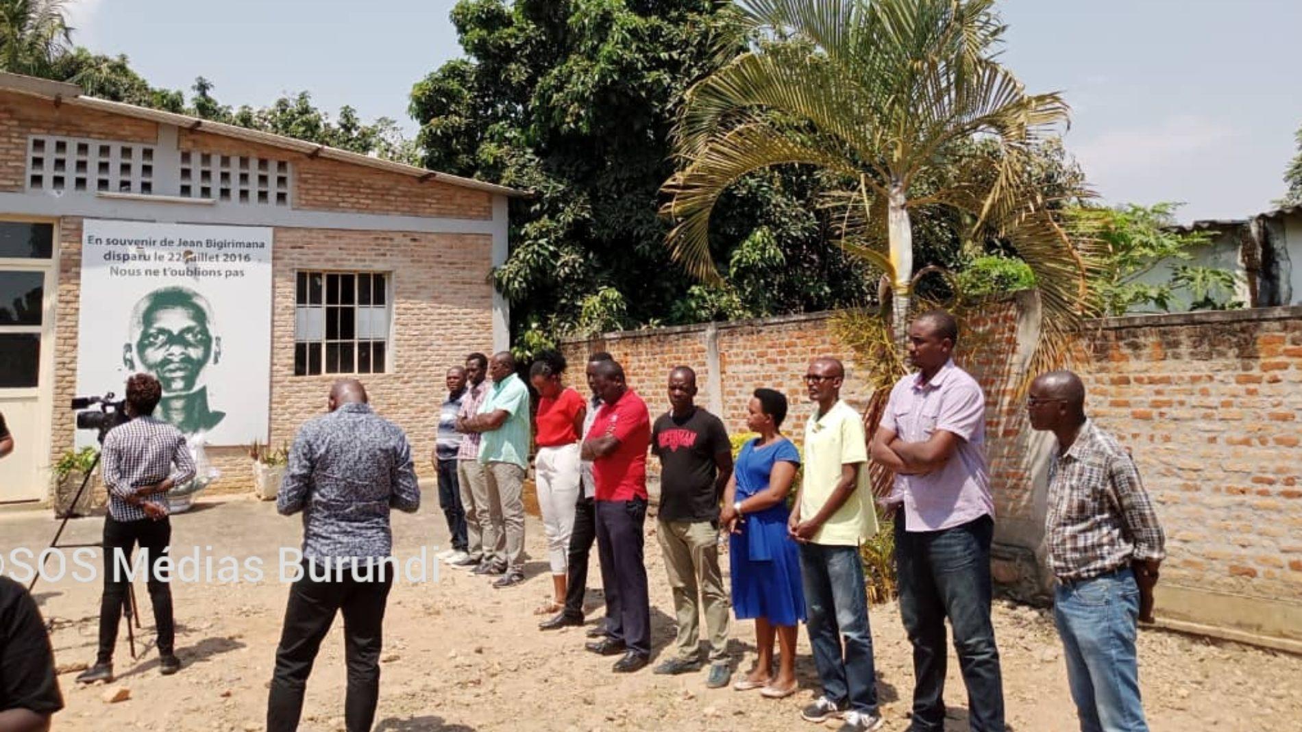 Photo de la semaine – Disparition de Jean Bigirimana: même blessure et douleur cinq ans après