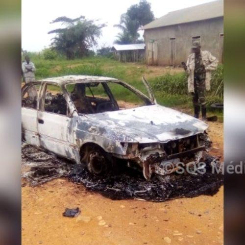 RDC-Ituri : des hommes armés assimilés aux ADF ont brûlé deux véhicules