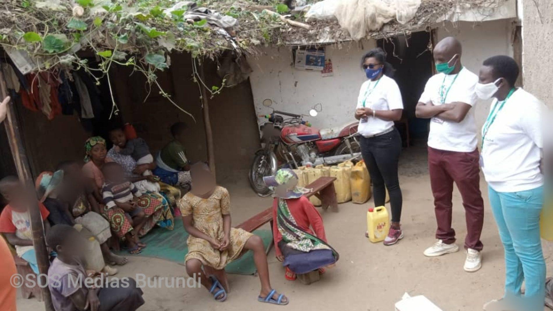 Nakivale (Ouganda) : une association de Burundais a apporté une assistance aux Albinos