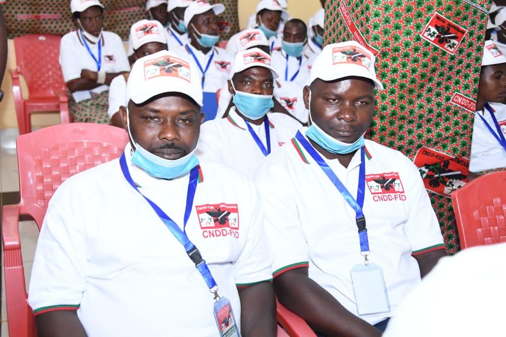 Des participants au congrès de Buye, crédit photo : service communication du CNDD-FDD